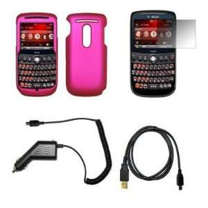 Hot Pink Snap On Cover Hard Case Cell Phone Protector