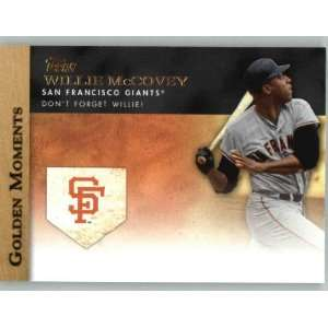 2012 Topps Golden Moments #GM22 Willie McCovey   San Francisco Giants