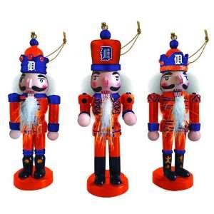 Pack of 6 MLB Detroit Tigers Nutcracker Christmas