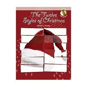 The Twelve Styles of Christmas Book With CD Eb Alto Saxophone   Grade