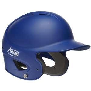 Adams Matte Baseball Softball Batting Helmet ROYAL SMALL