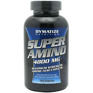 Super Amino 4800 mg, 325 Caplets (Amino Acids) Health & Personal Care