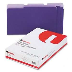 Colored File Folders, 1/3 Cut One Ply Top Tab, Legal