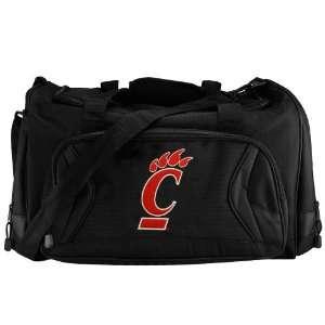 Cincinnati Bearcats Black Fly By Duffel Bag