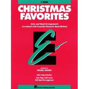 Christmas Favorites   French Horn   Essential Elements Band Folios