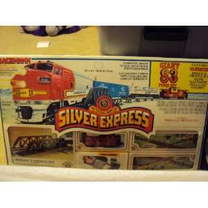 Bachmann Silver Express HO Scale Train Set Toys & Games