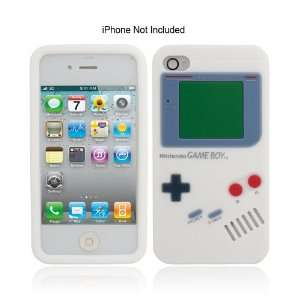 iPhone 4 Silicone Game Boy Designed Phone Cover Case Color