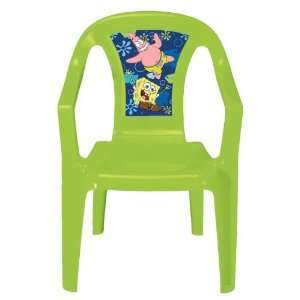Kids Only Nickelodeon SpongeBob SquarePants Resin Chair: Toys & Games