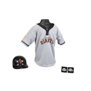 MLB San Francisco Giants Kids Team Youth Medium Uniform Set