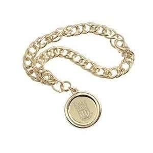Duke   Charm Bracelet   Gold