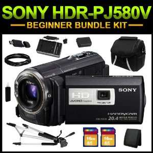 Sony HDR PJ580V High Definition Handycam Camcorder (Black