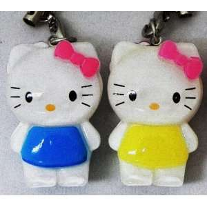 Hello Kitty Strap, Charm or Keychain, Acrylic, Size 1.5
