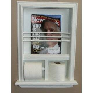 In the Wall Magazine Rack, Trash Can, Toilet Paper Holder, Tissue