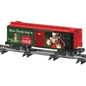 Lionel S Scale American Flyer Boxcar Holiday Coca Cola Toys & Games