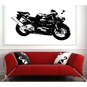 Wall Sticker Mural Vinyl Motorcycles Honda Cbr 954 rr