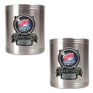 Detroit Red Wings NHL 2008 Stanley Cup Champs 2pc