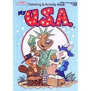 Kappa My Usa Coloring & Activity Book 80 Pages (Pack of 6