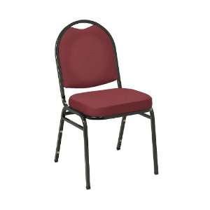 KFI Seating Black Stacker Chair