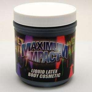 Mr S Leather Liquid Latex Body Paint   Black   16oz