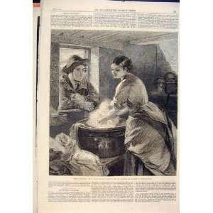 Rustic Courtship Lucas Washing Washer Woman Man Lady