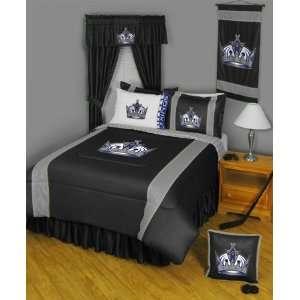 Los Angeles Kings Jersey Mesh Comforter   Full/Queen Size