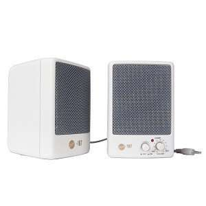 Two piece MultiMedia Computer Speakers (Beige) Electronics