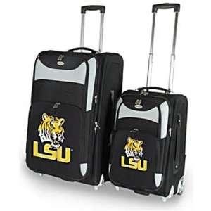 State LSU Tigers NCAA Two Piece Luggage Set