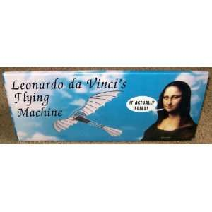 Leonardo Da Vincis Flying Machine Model Toys & Games