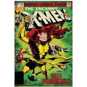 Marvel Comics Retro The X Men Comic Book Cover #135, Phoenix (aged