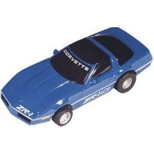 Mattel   C* Corvette ZR 1 (blue) (Slot Cars) Toys & Games