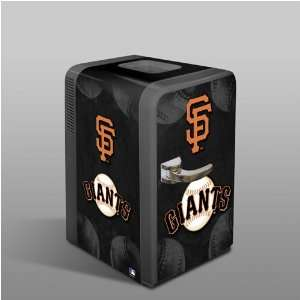 San Francisco Giants Portable Refrigerator Memorabilia.