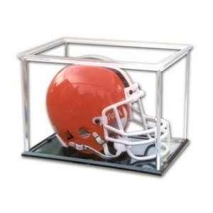 Mini Football Helmet Display Case Pro Mold Holder Sports