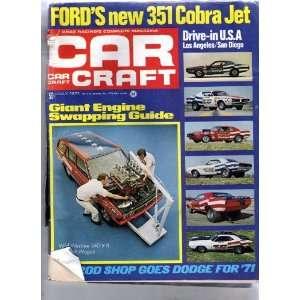 Car Craft   Drag Racings Complete Magazine, July 1971, Vol. 19, No. 7