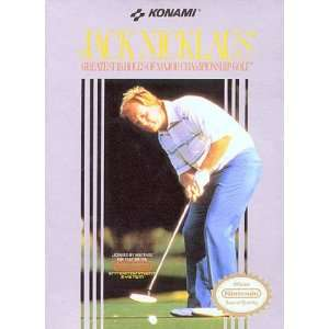 Jack Nicklaus Golf: Nintendo NES : Toys & Games :