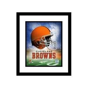 Cleveland Browns NFL Team Logo and Football Helmet