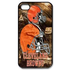 Cleveland Browns logo iPhone 4/4s Hard Shells for fans