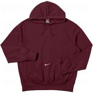 Nike Core Hoodie   Mens   Dark Maroon/White Sports