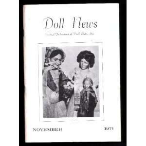 Doll Collecting Journals , DOLL NEWS , the United Federation of Doll