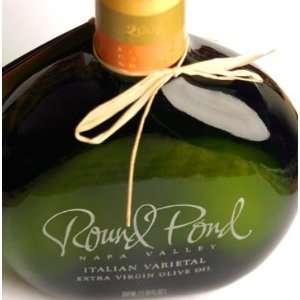 Round Pond Estate Extra Virgin Olive Oil   Italian Varietal 375ml