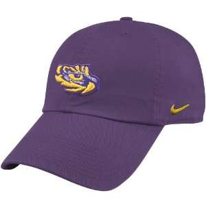 Nike LSU Tigers Purple Mascot Campus Hat:  Sports
