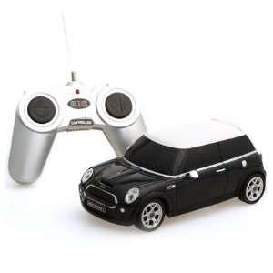24 Scale BMW MINI COOPERS BLACK Radio Remote Control Car Toys & Games