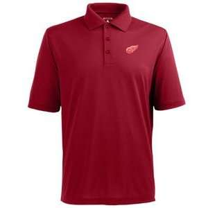 Detroit Red Wings Classic Pique Xtra Lite Polo Shirt (Team