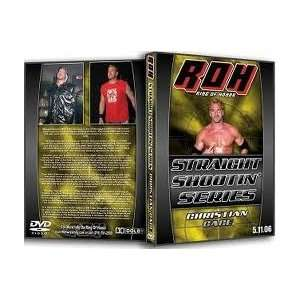 of Honor Presents Straight Shootin Series with Christian Cage Dvd