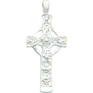 Sterling Silver Celtic Cross Charm Religious Jewelry Jewelry