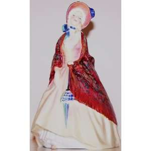 Royal Doulton Paisley Shawl Lady Figurine HN1988