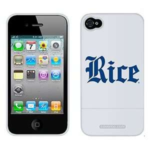 Rice University Script on Verizon iPhone 4 Case by Coveroo