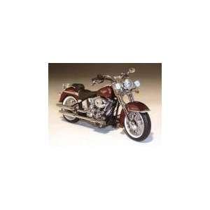 Harley Davidson FLSTN Softail Deluxe Dark Candy Root Beer Automotive