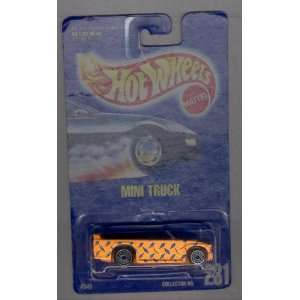 Hot Wheels 1991 231 Mini Truck All Blue Card 164 Scale Toys & Games