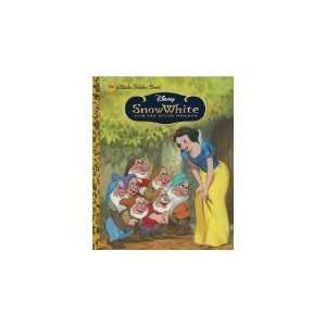 Snow White and the Seven Dwarfs (Little Golden Book) by Walt Disney