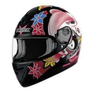 Shark S650 IKEBANA BLK_RED MD MOTORCYCLE Full Face Helmet